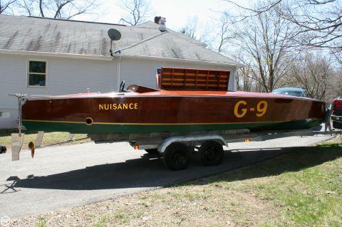 1989 Custom-craft 26 Gold Cup Race Boat 1989 Custom 26 Gold Cup Race Boat for sale in Lexbridge, MA