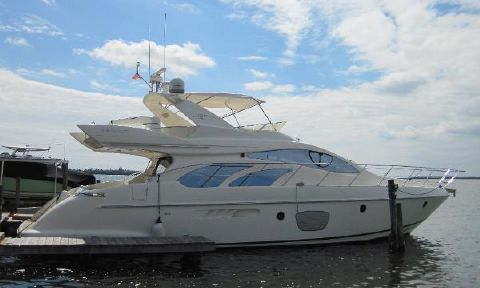 2005 Azimut Evolution Fly Bridge