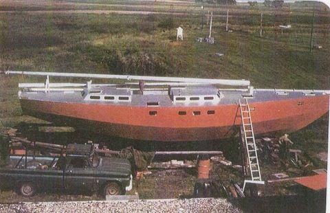 1987 Bruce Roberts Sailboat Ketch Rig