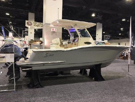 2016 Scout Boats 255 LXF Actual Vessel on Display