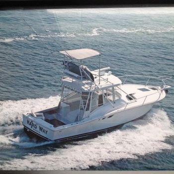 1994 Luhrs 32 Open Starboard Stern
