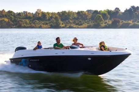 2017 Bayliner Element E21 -Mercury 150hp