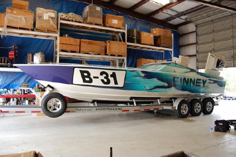 1994 Larry Smith WellCraft Scarab 31 Viper