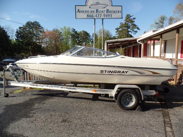 2002 stingray 180 ls 18 foot 2002 stingray motor boat in for Used outboard motors for sale in ga