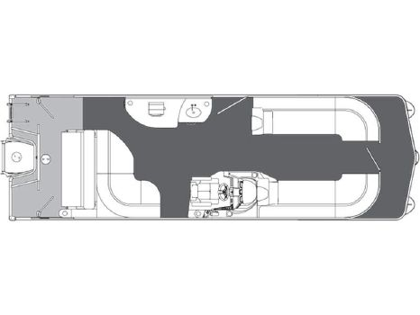 2015 Manitou Pontoons 26 SES Galley