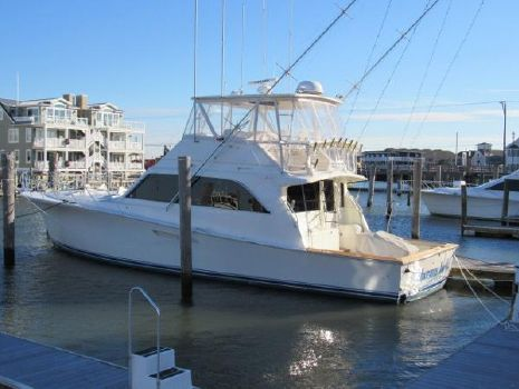 1988 Ocean Yachts Super Sport Profile