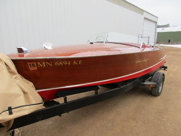 Check out this 1951 CHRIS - CRAFT Racing Runabout on Boattrader com