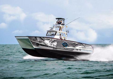 2017 Metal Shark 40 Catamaran