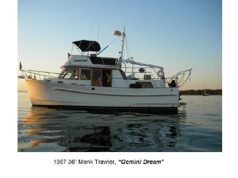 1987 Monk Trawler 36