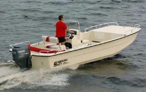 2016 Carolina Skiff DLX Series 21