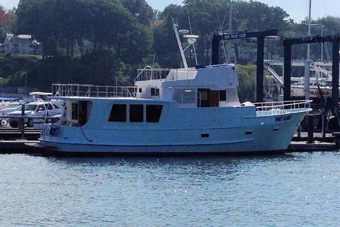 1980 Broadfire 50 Trawler Starboard