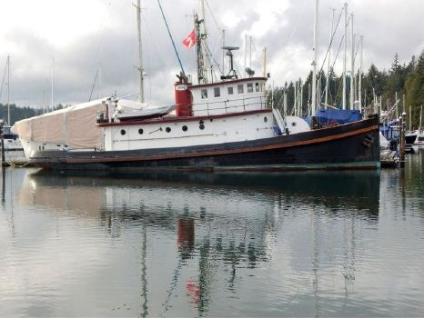 1890 Converted Tug Historic 78 Foot Workboat