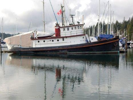 1890 Converted Tug Historic 78 Foot Workboat