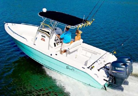 2007 Sea Quest 2350 Center Console SKA Manufacturer Provided Image