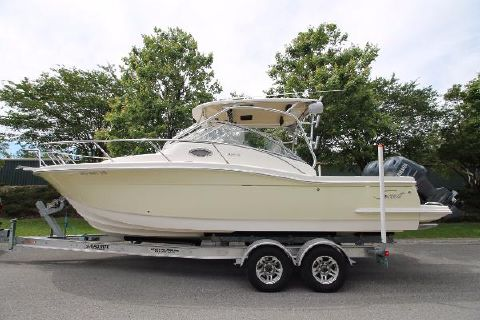 2006 Scout 262 Abaco Twin F150's