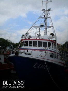 1975 Delta 50 Commercial Fishing Boat 1975 Delta 50 Commercial Fishing Boat for sale in Honolulu, HI