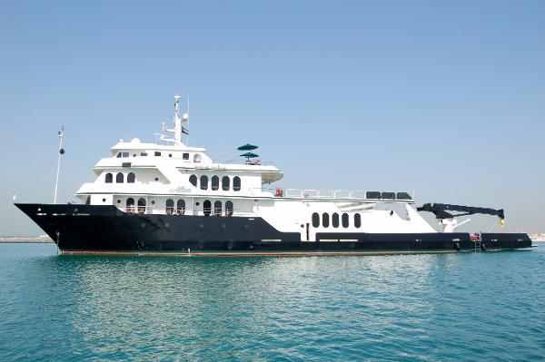 2007 Shadow Marine Custom Expedition Yacht Profile