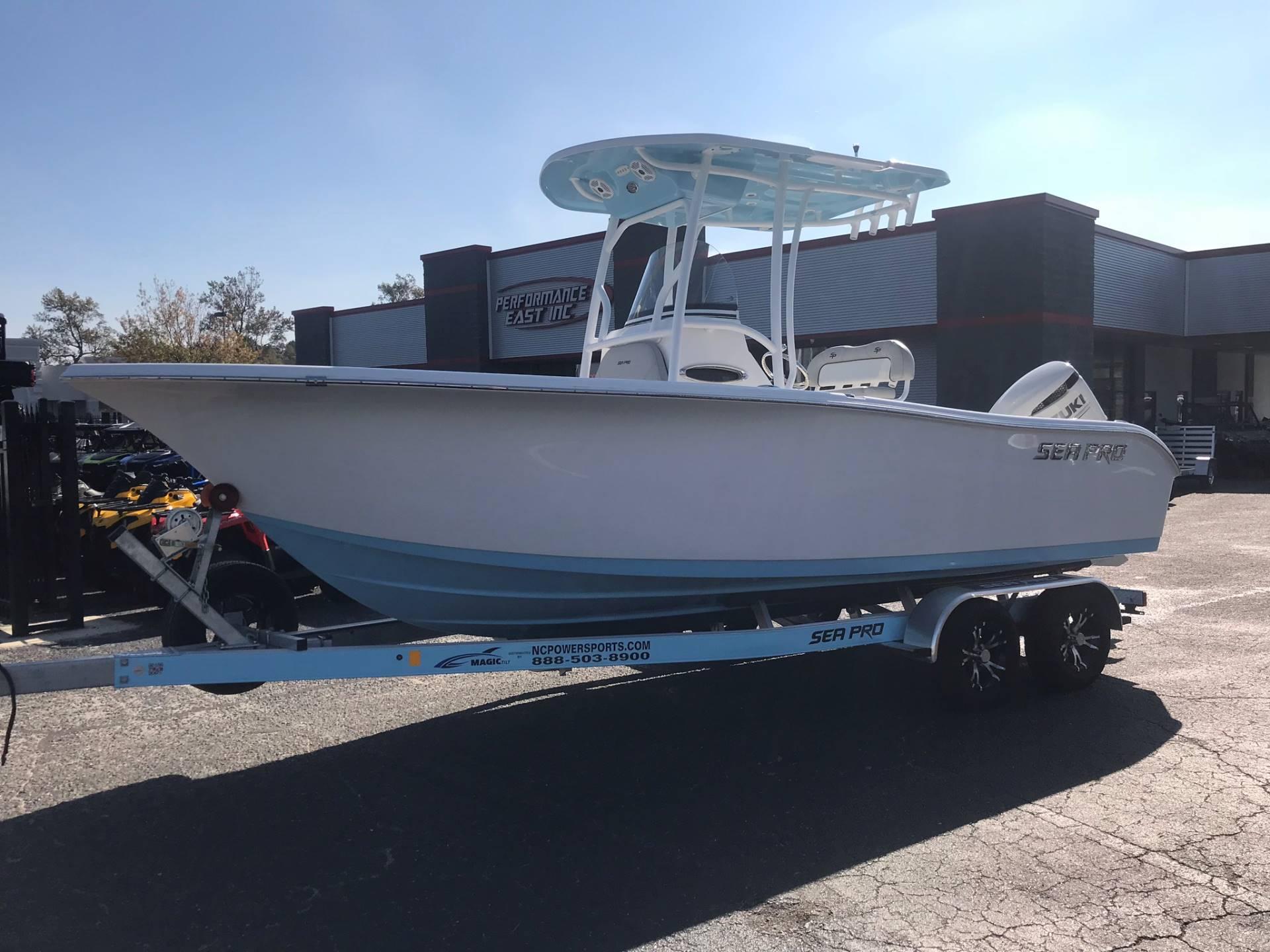 2017 Sea Pro 219 CC
