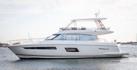 2018 Prestige Yachts 560 Flybridge Port Side