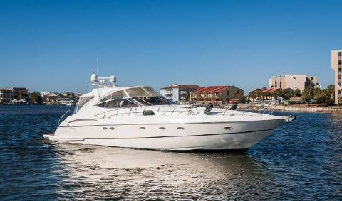 2003 Cruisers 540 Express Starboard Profile