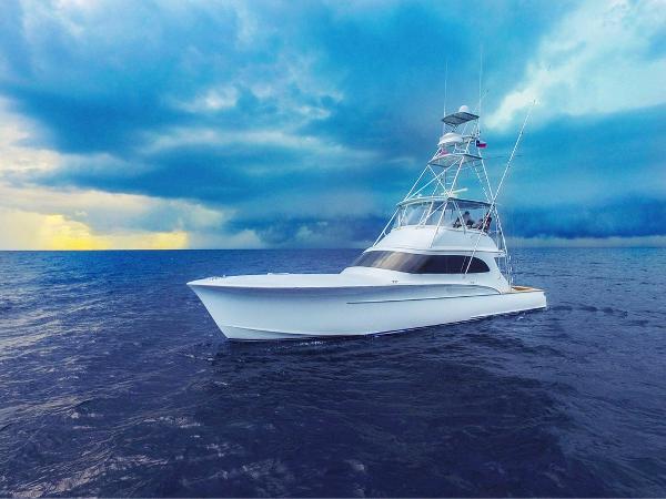 1995 Custom Carolina Gillikin 54 Eastbay Boatworks  Profile