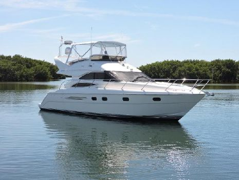2002 Viking/Princess Sport Cruisers  45 Flybridge Profile