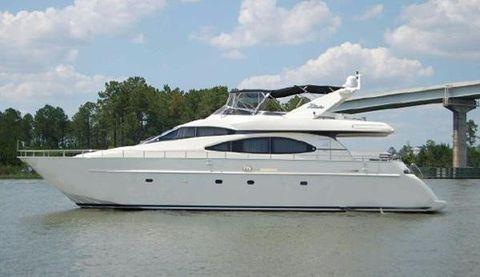 2000 Azimut Seajet Profile
