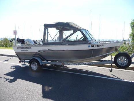 2002 Alumaweld Intruder Outboard 18