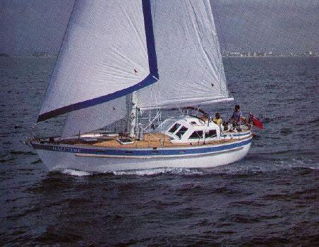 1986 Pan Oceanic 38 Aft Cockpit
