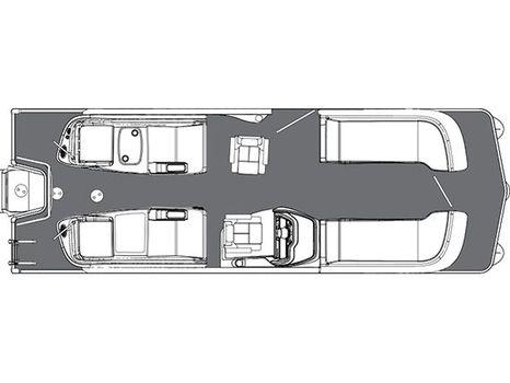 2016 Manitou Pontoons 25 SRS - X-Plode XT