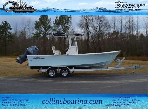 2017 May-craft 2300 Center Console