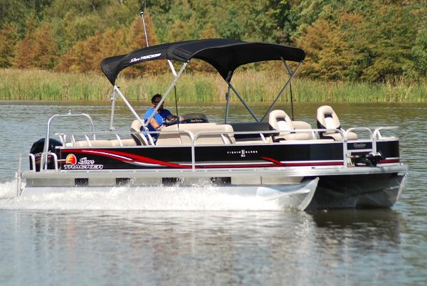 2013 Sun Tracker 24 DLX Fishing Barge