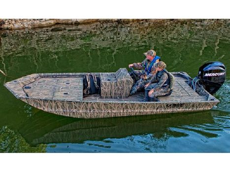 2014 LOWE BOATS Hunting Roughneck 1650 SC