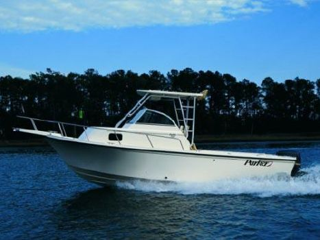 2004 Parker 2310 Walkaround w/ full transom and 110 hours