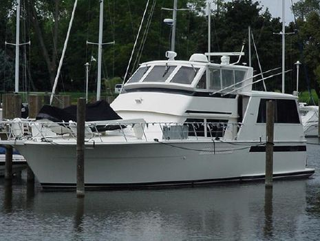 1993 Viking 54 Sports Yacht Exterior 1