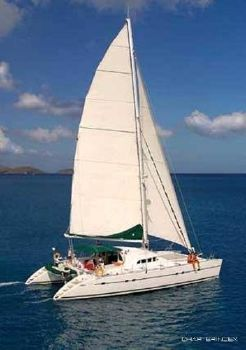 2001 Lagoon 570 Under sail