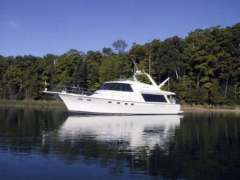 2000 Bayliner 4788 Pilothouse Motoryacht 47' Bayliner port forward profile photo1