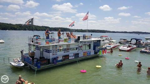1983 Sumerset Houseboats 5414 Commercial-Galley 1983 Sumerset 5414 Commercial-Galley for sale in Angola, IN