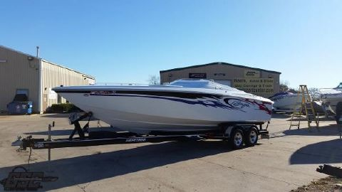 2005 BAJA MARINE 25 Outlaw SST package