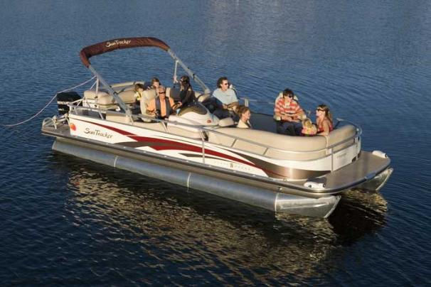 2008 Sun Tracker PARTY BARGE 26 Regency Edition