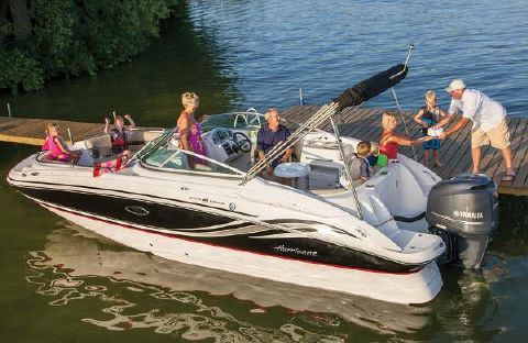2016 Hurricane SunDeck 2400 OB Manufacturer Provided Image: Manufacturer Provided Image