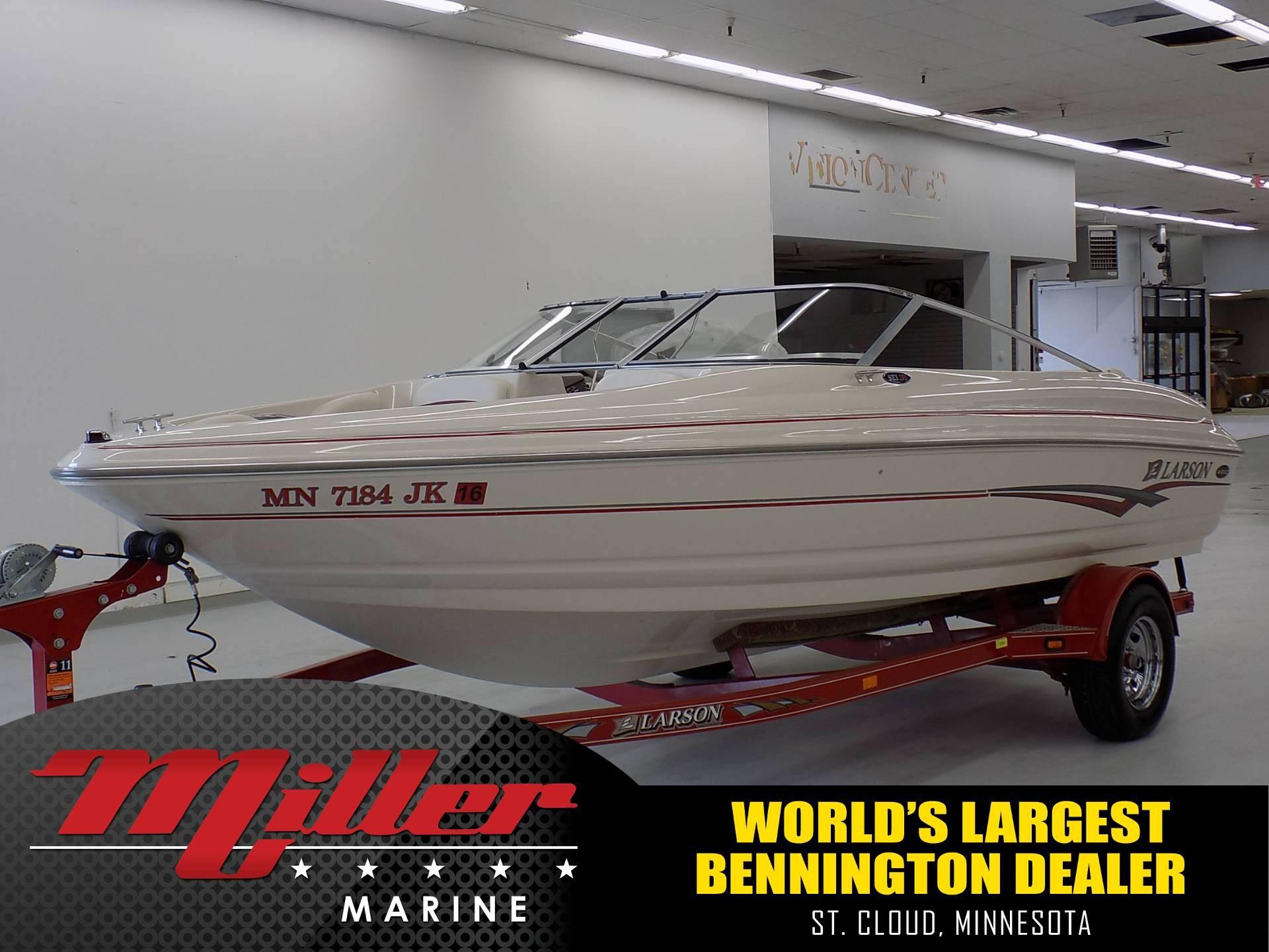 2002 larson 190 i o 19 foot 2002 motor boat in saint for Used boat motors mn