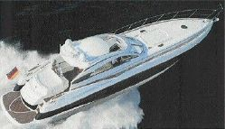 2003 Sunseeker Predator 61 Running