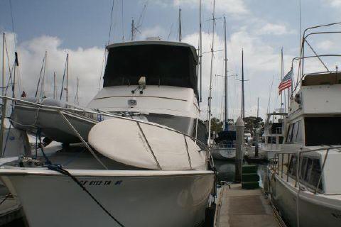 1988 Ocean 35 super sport port bow