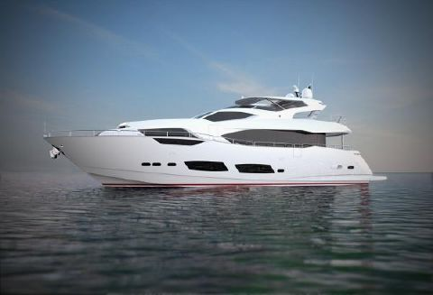 2017 Sunseeker 95 Yacht Manufacturer Provided Image