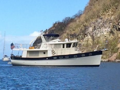 2001 Kadey Krogen 48' North Sea Walkaround On the Hook in the Islands
