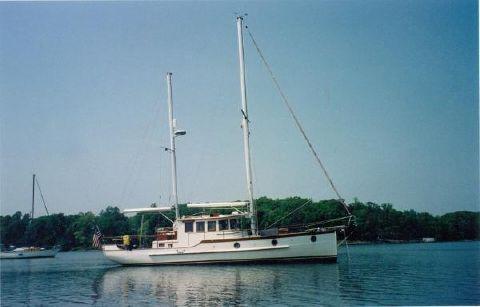 2003 Lien Hwa 45 Motor Sailor