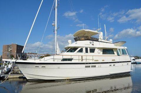 1987 Hatteras 54 Motoryacht
