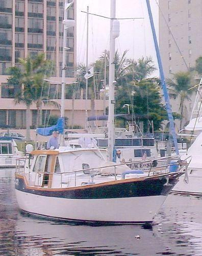 1995 Nauticat Pilothouse Ketch
