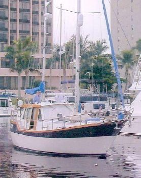 1995 Nauticat Pilothouse Ketch